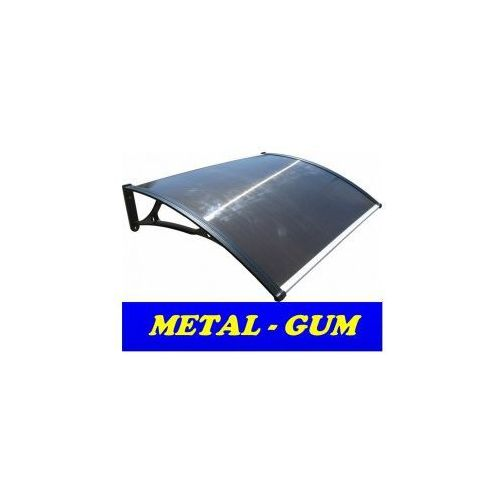 Daszek zadaszenie drzwi aluminiowe 150 x 80 marki Metal-gum
