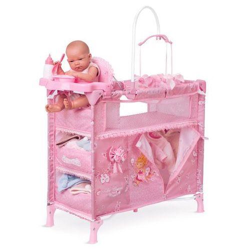 DeCuevas Składane łóżeczko dla lalek z 5 funkcjonalnymi akcesoriami Maria 2018 (4897022530235)
