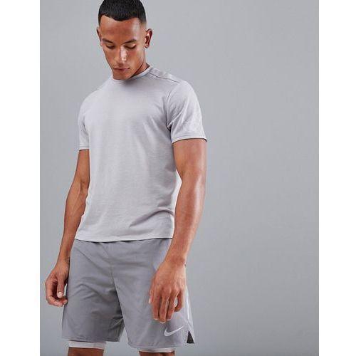 tailwind reflective t-shirt in grey ao9942-027 - grey, Nike running