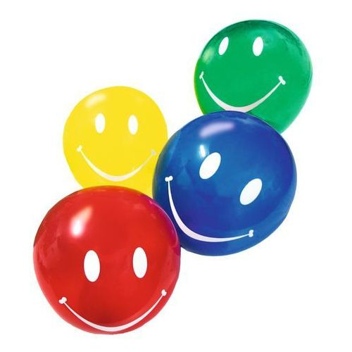 Pelikan Balony balon uśmiech buźki 10szt susy-card - uśmiech