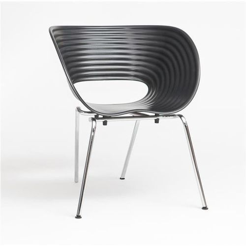 Krzeslo VTV inspirowane Tom Vac CZARNE