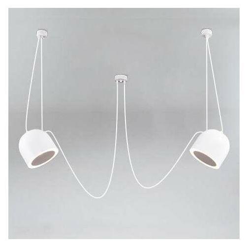 Shilo Lampa wisząca dobo 9036/e14/bi/kolor modernistyczna oprawa metalowy zwis (5903689994248)