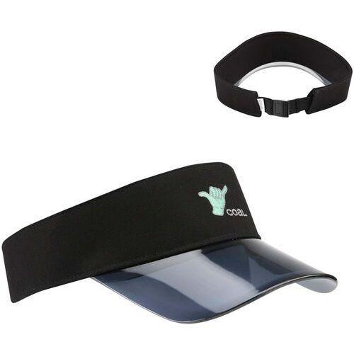 czapka z daszkiem COAL - The Sandy Visor Black (02) rozmiar: OS