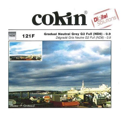 Cokin P121F połówkowy szary G2 Full NDx8 systemu Cokin P z kategorii Filtry fotograficzne