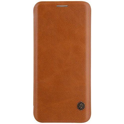 Etui Nillkin Qin leather case do SAMSUNG GALAXY S9+ / S9 Plus G965 brąz - brąz (6902048153189)
