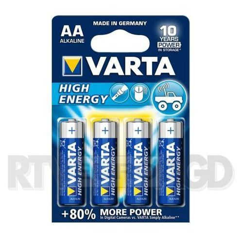 VARTA AAA High Energy (4 szt.) (4008496559763)