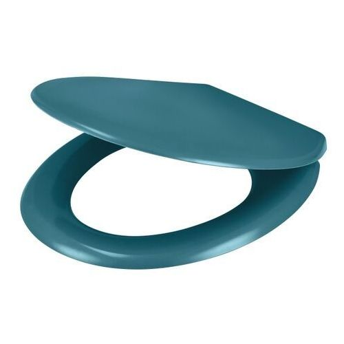 Goodhome Deska wc genoa wolnoopadająca z duroplastu niebieska (5059340081281)