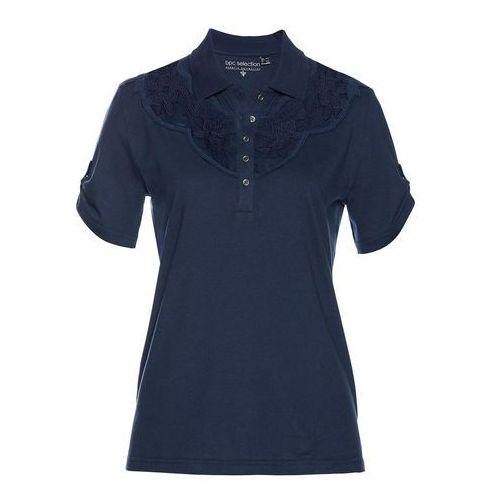 Shirt polo ciemnoniebieski marki Bonprix