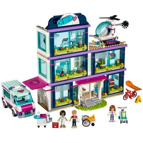 Lego FRIENDS Szpital w heartlake heartlake hospital 41318