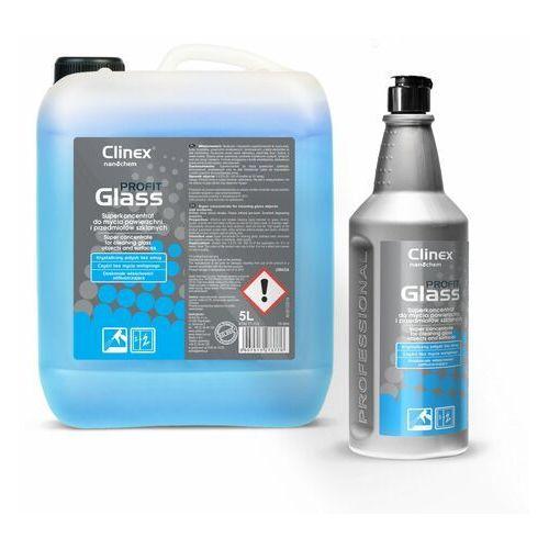 Profit Glass Clinex 1L - Superkoncentrat do mycia powierzchni i przedmiotów szklanych