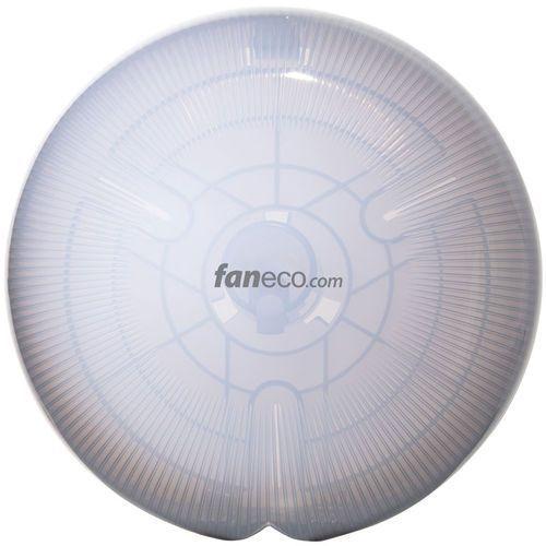 Faneco Pojemnik na papier toaletowy jumbo l cosmo plastik przezroczysty