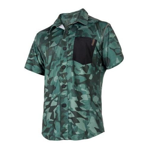 Mystic Shred Blouse Quickdry SS (green allover) 2018