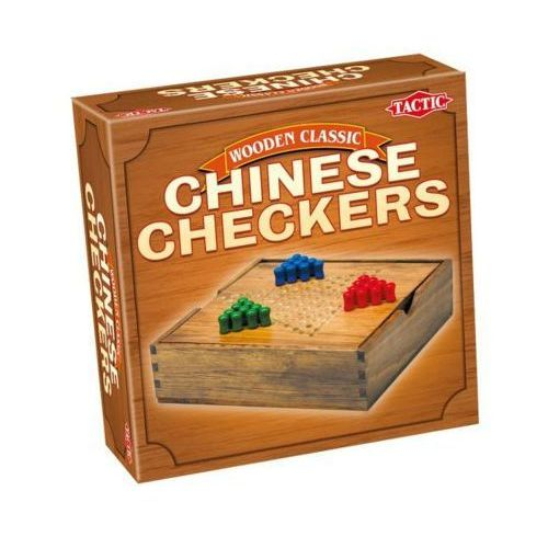 Tactic Gra wooden classic - chińskie warcaby (6416739140278)