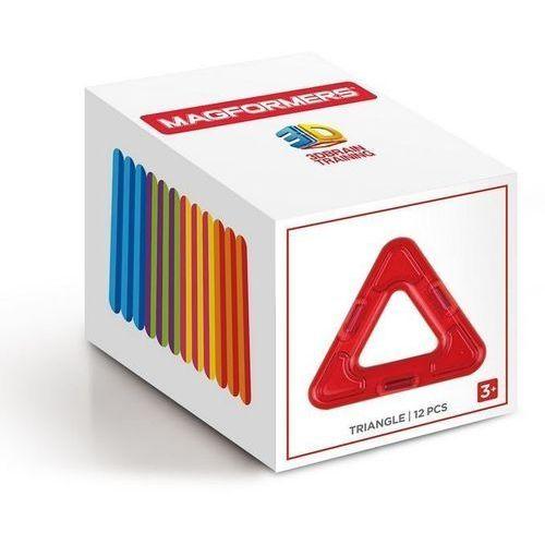 Magformers Klocki magnetyczne trójkąty 12 elementów