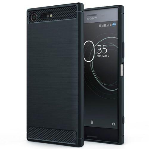 Tech-protect tpucarbon black | obudowa dla sony xperia xz premium (99895266)