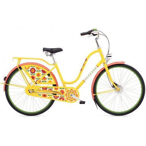 "Electra Rower  amsterdam fashion 3i bieg (26"") żółty forget me not 293105"