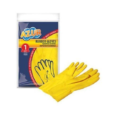 Rękawice gumowe AZUR 092110 (rozmiar L)