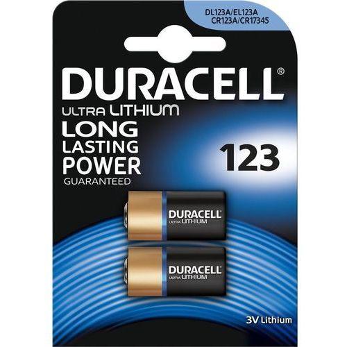 Bateria DURACELL Ultra Photo CR123A K2, 123UltraM3(B2)