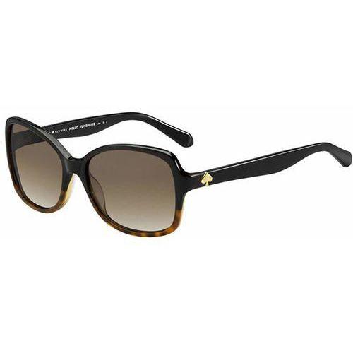 Okulary Słoneczne Kate Spade Ayleen/P/S Polarized 0WR7/LA, kolor żółty