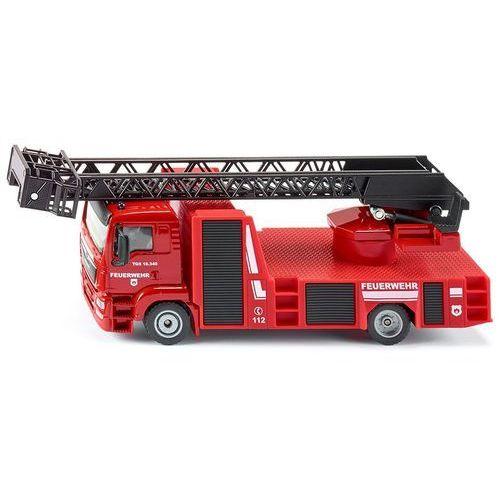 SIKU Super - wóz strażacki MAN z obrotową drabiną
