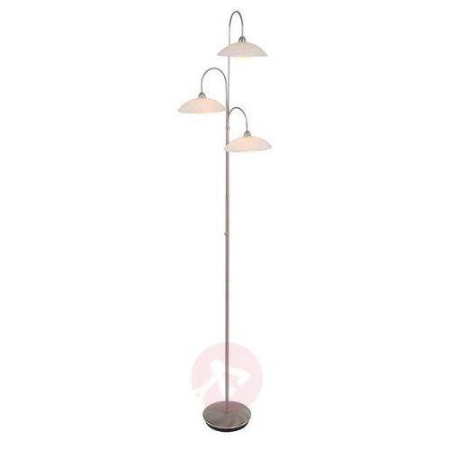 Steinhauer Aleppo Lampa Stojąca LED Stal nierdzewna, 3-punktowe - Klasyczny - Obszar wewnętrzny - Aleppo - Czas dostawy: od 6-10 dni roboczych