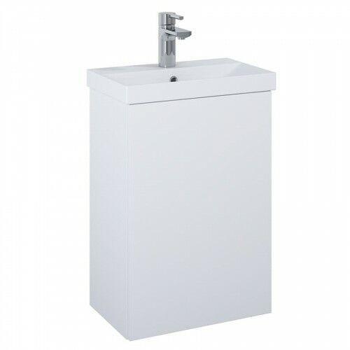 set szafka + umywalka kido 45 1d white matt 168378 marki Elita