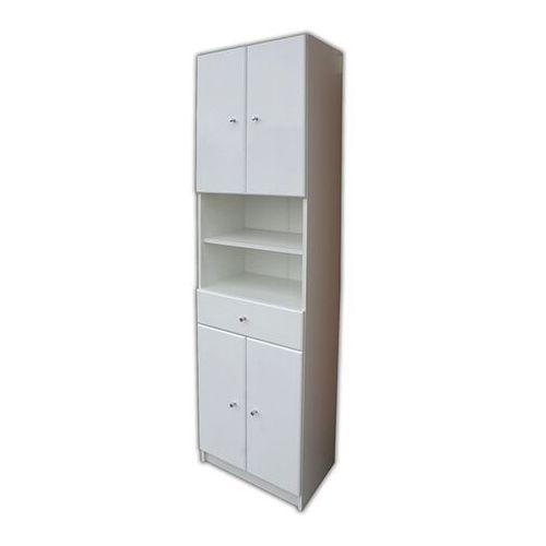 Słupek łazienkowy Rumba 50 x 184,2 x 33 cm biały (5907798010417)
