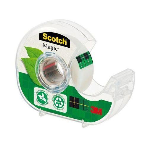 Scotch taśma klejąca magic greener choice na podajniku 9-1920d 19mmx20m marki 3m