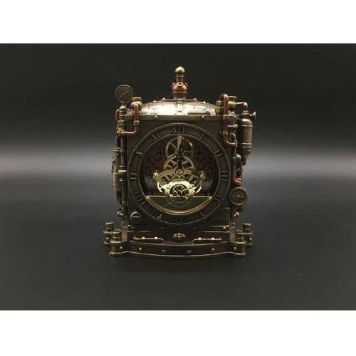 Steampunk okazały zegar kominkowy (wu77170a4) marki Veronese