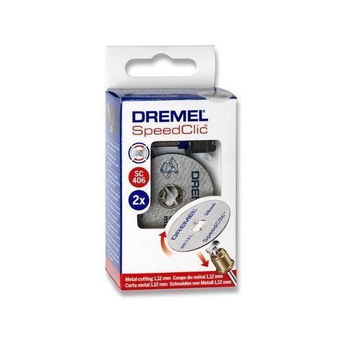Dremel Speedclic system - 2615s456jc - zestaw tarcz sclic do metalu/5 tarcz do cięcia 38mm,1,25mm (8710364042821)