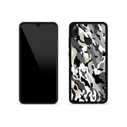 Huawei P Smart (2019) - etui na telefon Aluminum Fantastic - szare moro, ETHW834HBFNFC140000