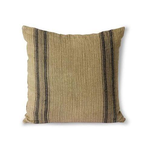 Hkliving lniana poduszka ciemny beż (45x45) tku2103