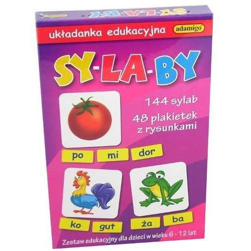 Sylaby układanka edukacyjna, AM_5902410005888