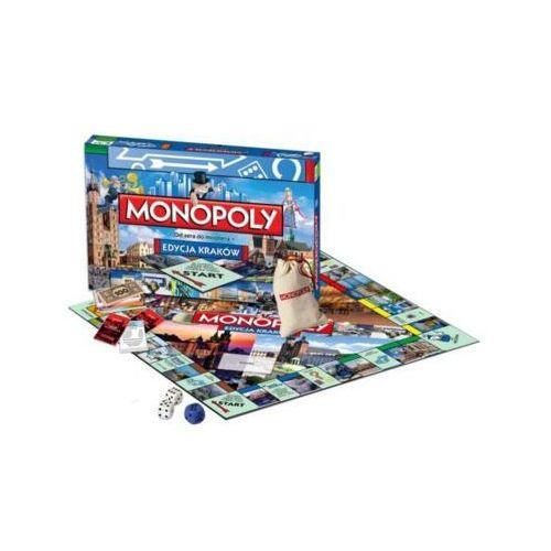 Winning moves Hasbro monopoly kraków - darmowa dostawa od 199 zł!!!