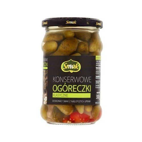 300g ogóreczki konserwowe mini marki Smak