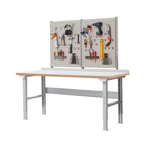 Aj produkty Stół roboczy solid 500, z wyposażeniem, 300 kg, 2000x800 mm, laminat
