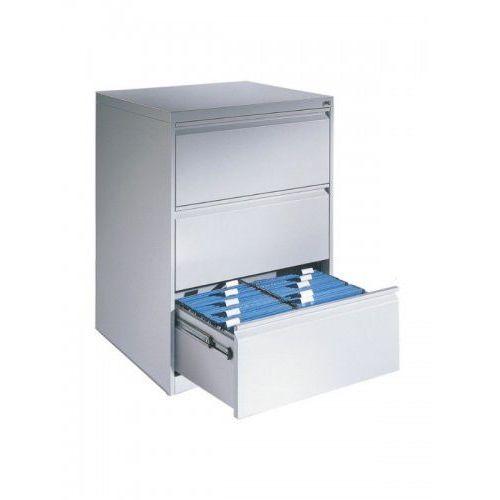 Metalowa szafa kartotekowa na kartoteki A4 2-rzędowa 3-szufladowa