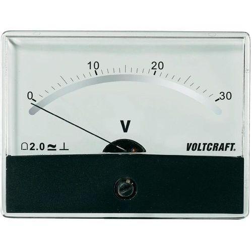 Analogowy wskaźnik panelowy VOLTCRAFT AM-86X65/30V/DC (4016138782820)