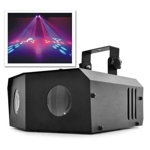 Efekt świetlny LED Beamz Nomia RGB-Dual-Moonflower Disko
