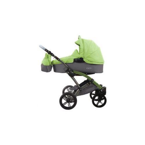 wózek dziecięcy voletto happy colour szary-jasnozielony marki Knorr-baby