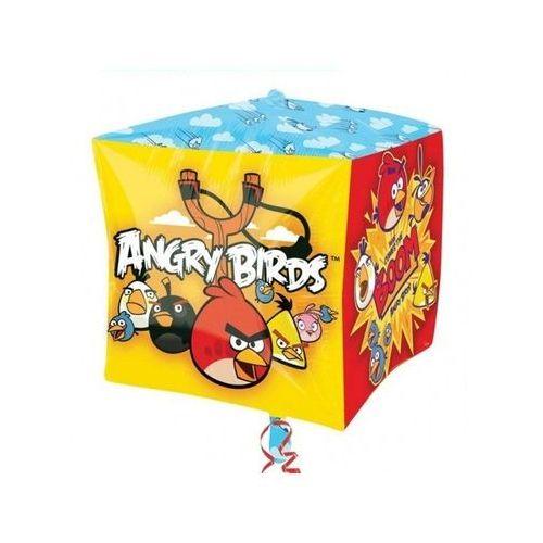Balon foliowy Sześcian Angry Birds - 38 cm - 1 szt.