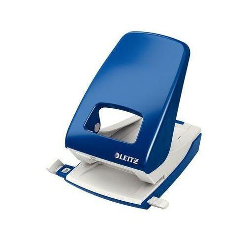 dziurkacz duży metalowy 5138, do 40 kartek, niebieski marki Leitz