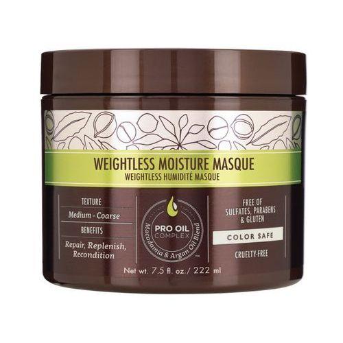 Macadamia Weightless Moisture Mask | Nawilżająca maska do włosów cienkich - 222ml