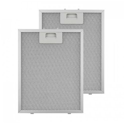 filtr aluminiowy przeciwtłuszczowy 24,4 x 31,3cm fitr wymienny 2 szt. wyposażenie marki Klarstein