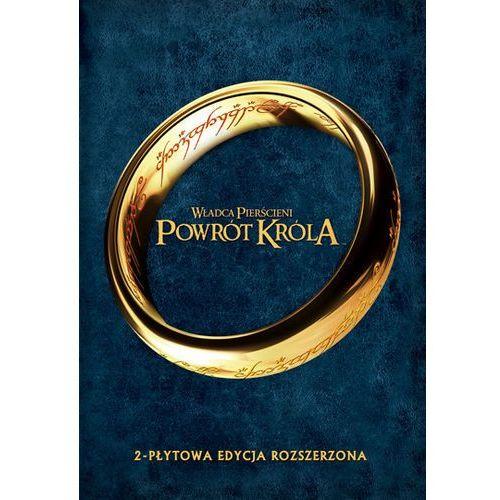 Galapagos films Władca pierścieni powrót króla - edycja rozszerzona (2 dvd) 7321909323773 (7321909323773)
