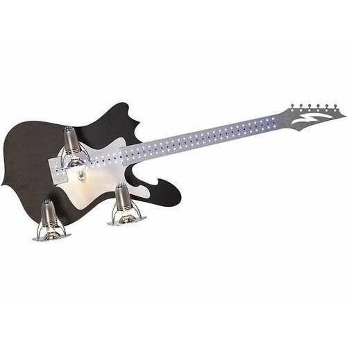 Plafon Nowodvorski Gitarra III 4326 lampa sufitowa 3x40W E14 czarna, 4326