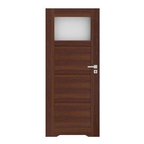 Drzwi z podcięciem Connemara 70 lewe orzech north