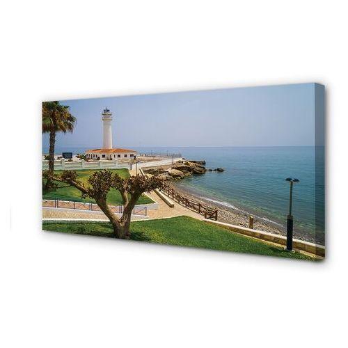 Obrazy na płótnie Hiszpania Wybrzeże latarnia morska
