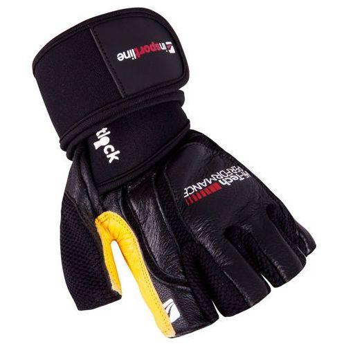 Męskie rękawice do ćwiczeń fitness inSPORTline Bewald, L (8595153689124)