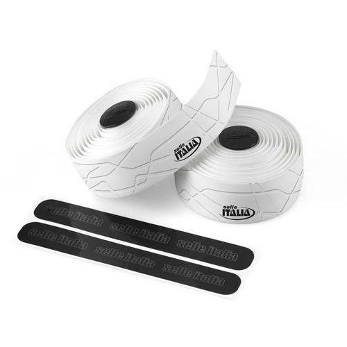 Selle italia smootape gran fondo owijka kierownicy eva żel 2,5 mm biały owijki kierownicy (8030282426429)